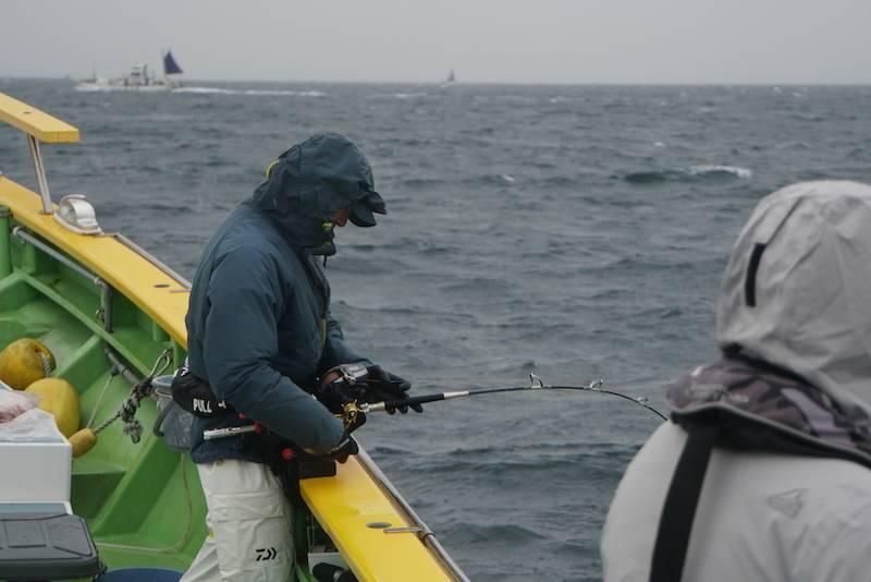 釣り用レインウェア