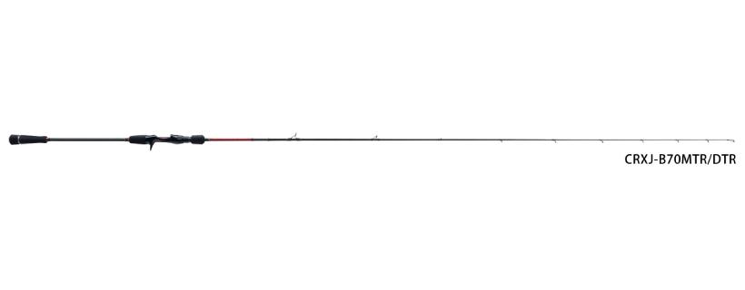 メジャークラフト 「三代目」クロステージ鯛ラバ CRXJ-B69LTR/DTR