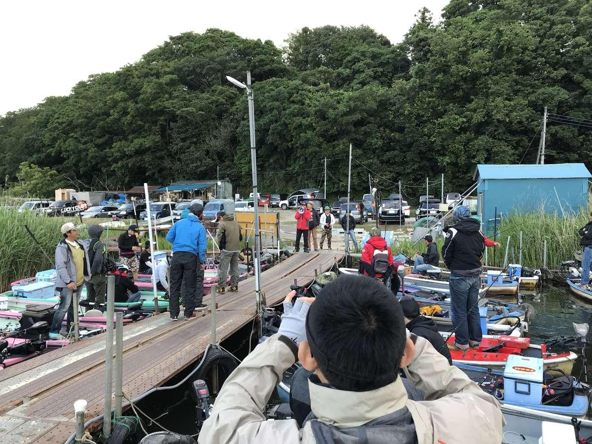 【釣り・ボート・落水】大会前