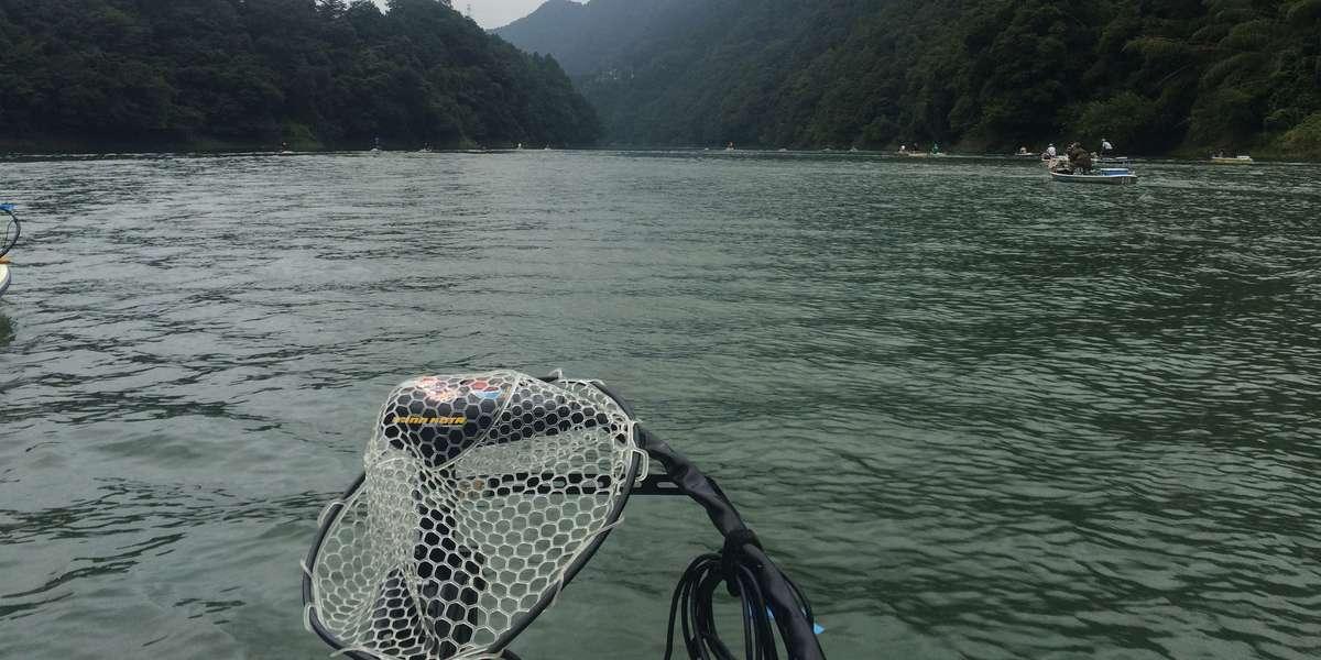 【釣り・ボート・落水】津久井湖