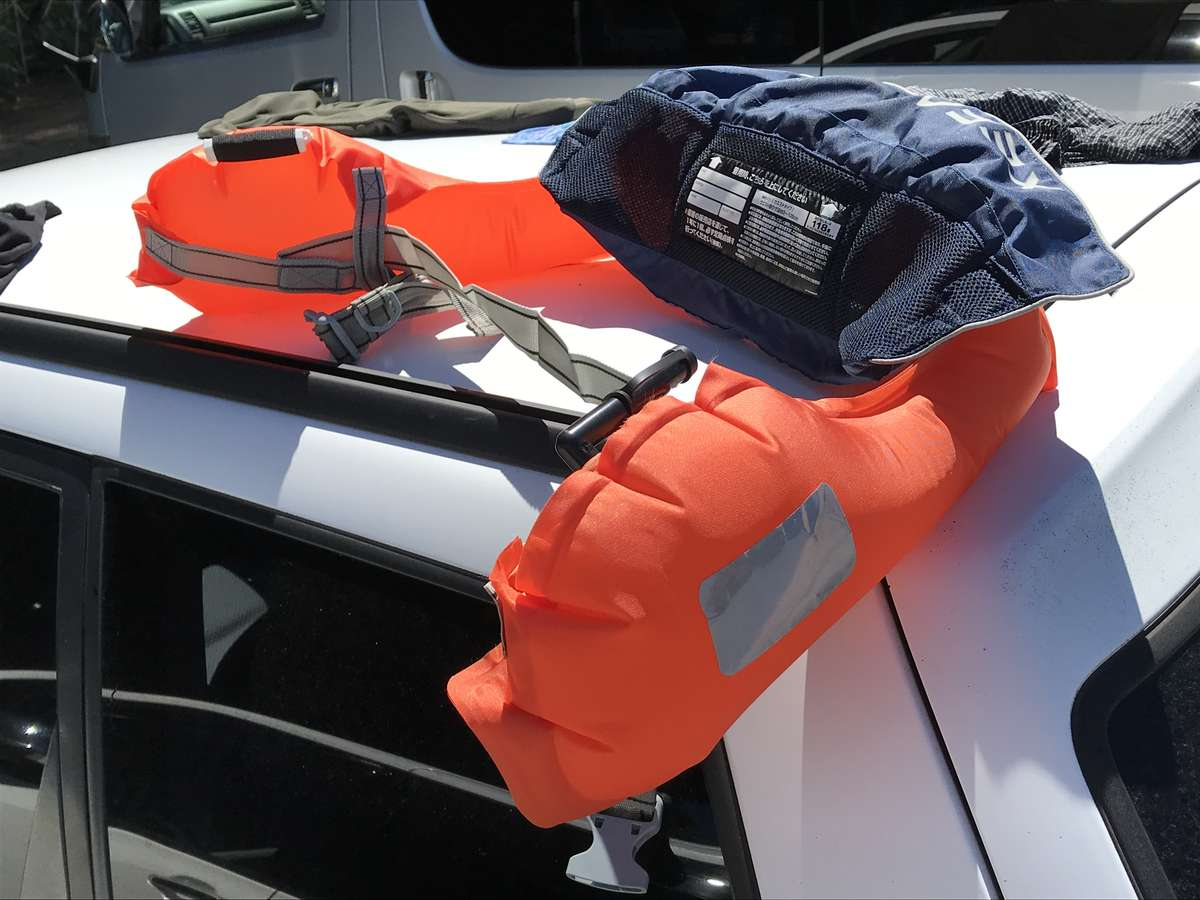 【釣り・ボート・落水】ライフジャケット