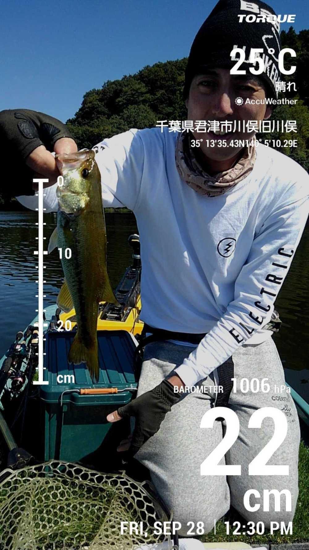 【亀山湖・京セラ・トルクG03】22cm