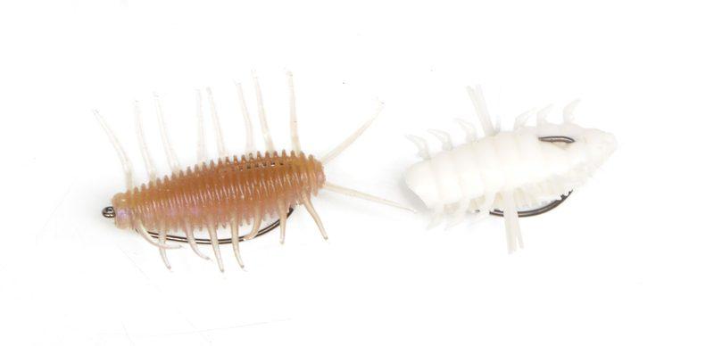 【虫ルアーの使い方:実践編】ブーン(右)とブーンチン(左)